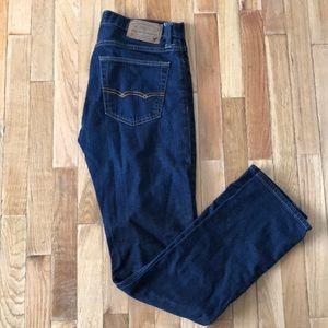 American Eagle Navy Slim 30x34 Stretch Jeans